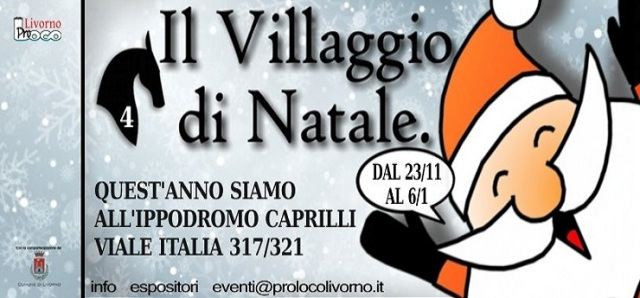 villaggio di natale Christmas village